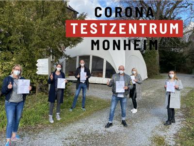 Corona Testzentrum Monheim